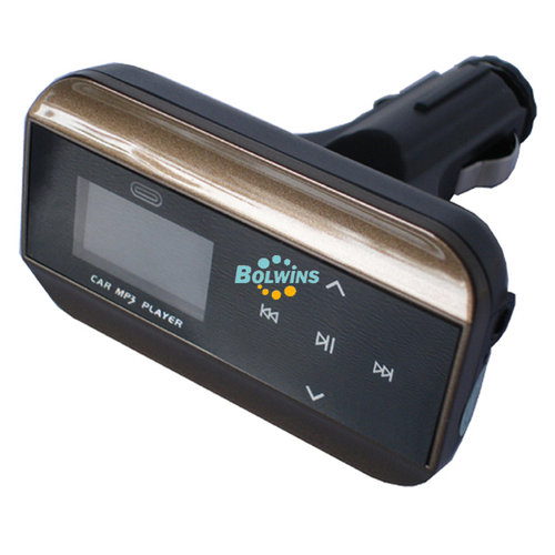 E05 Auto KFZ MP3 Player FM Transmitter USB SD Slot + Fernbedienung