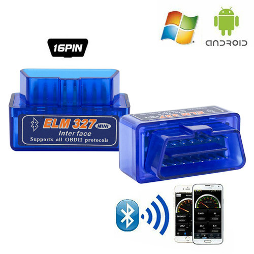 D20 ELM327 V2.1 Auto Code Reader Bluetooth Switch OBDII Diagnosegeräte Scanner